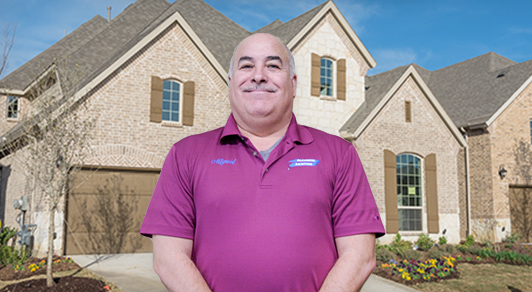 House painter and estimator Burleson, Miguel