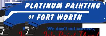 Platinum Painting of Fort Worth logo